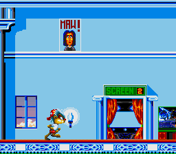 Oscar (USA) In game screenshot