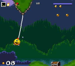 Pac-in-Time (Europe) (Beta) In game screenshot