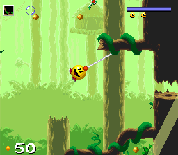 Pac-in-Time (Europe) In game screenshot