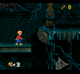 Pagemaster, The (Europe) In game screenshot