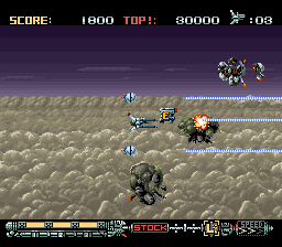 Phalanx - The Enforce Fighter A-144 (Europe) In game screenshot