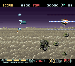 Phalanx - The Enforce Fighter A-144 (USA) (Beta) In game screenshot