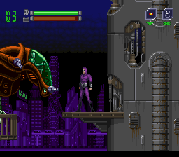 Phantom 2040 (USA) In game screenshot