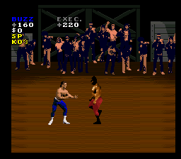 Pit-Fighter (Europe) In game screenshot