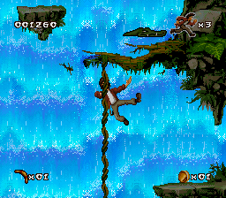 Pitfall - The Mayan Adventure (USA) In game screenshot