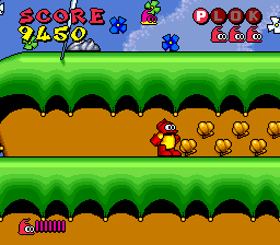 Plok! (USA) In game screenshot