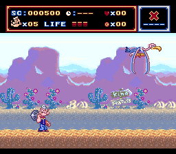 Popeye - Ijiwaru Majo Sea Hag no Maki (Japan) In game screenshot