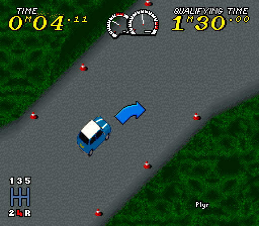 Power Drive (Europe) (En,Fr,De,Es,Pt) In game screenshot