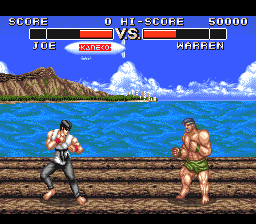 Power Moves (USA) In game screenshot