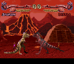 Primal Rage (Europe) In game screenshot