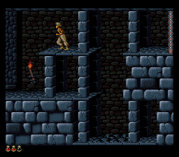 Prince of Persia (Europe) In game screenshot