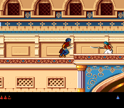 Prince of Persia 2 - The Shadow & The Flame (Europe) In game screenshot