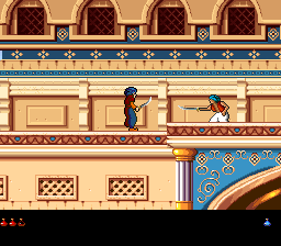 Prince of Persia 2 - The Shadow & The Flame (USA) In game screenshot