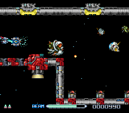 R-Type III - The Third Lightning (Europe) In game screenshot