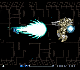 R-Type III - The Third Lightning (Japan) In game screenshot