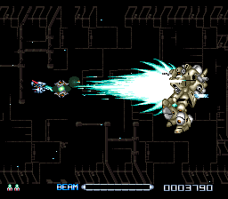 R-Type III - The Third Lightning (USA) In game screenshot