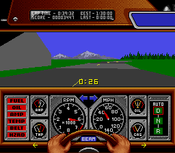Race Drivin' (Europe) In game screenshot