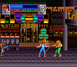 Return of Double Dragon (Japan) In game screenshot