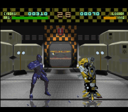 Rise of the Robots (USA) In game screenshot