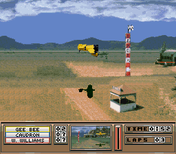 Rocketeer, The (USA) In game screenshot
