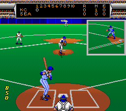 Roger Clemens' MVP Baseball (Japan) In game screenshot
