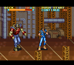 Rushing Beat Shura (Japan) In game screenshot