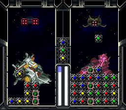 SD Gundam - Power Formation Puzzle (Japan) In game screenshot