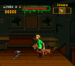 Scooby-Doo Mystery (USA) In game screenshot