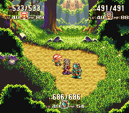 Seiken Densetsu 3 (Japan) (Sample) In game screenshot