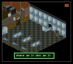Shadowrun (USA) (Beta) In game screenshot
