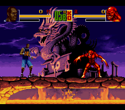 Shaq Fu (Europe) In game screenshot