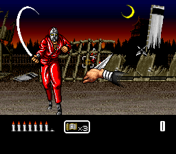 Shien - The Blade Chaser (Japan) In game screenshot