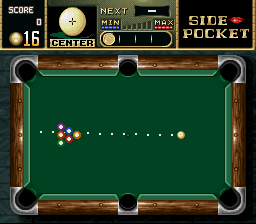 Side Pocket (Japan) In game screenshot