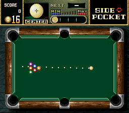 Side Pocket (USA) In game screenshot