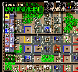 SimCity (Germany) In game screenshot