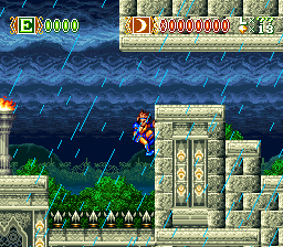 Skyblazer (USA) In game screenshot