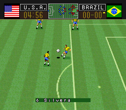 Soccer Shootout (Europe) In game screenshot