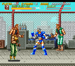 Sonic Blast Man (Europe) In game screenshot