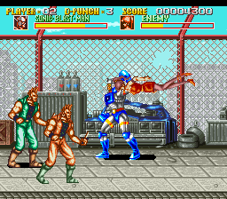 Sonic Blast Man (Japan) In game screenshot