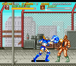 Sonic Blast Man (USA) In game screenshot