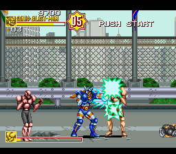 Sonic Blast Man II (Japan) In game screenshot