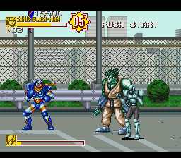 Sonic Blast Man II (USA) In game screenshot