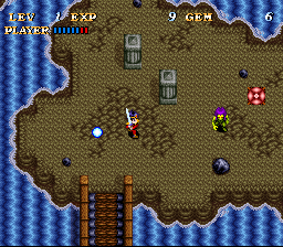 Soul Blazer (USA) In game screenshot