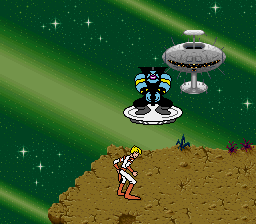 Space Ace (Europe) In game screenshot
