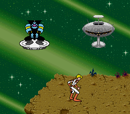 Space Ace (Japan) In game screenshot