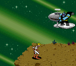 Space Ace (USA) (Beta) In game screenshot