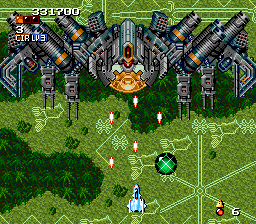 Space Megaforce (USA) In game screenshot