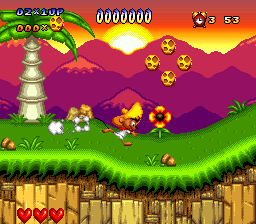 Speedy Gonzales in Los Gatos Bandidos (USA) (Beta) In game screenshot