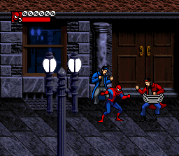 Spider-Man & Venom - Separation Anxiety (Europe) In game screenshot