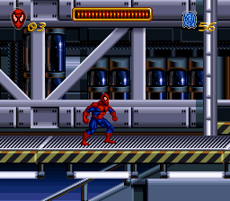 Spider-Man (Europe) In game screenshot